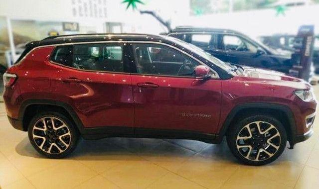Jeep Compass Limited Flex 2021 Okm A Pronta Entrega Melhor Preço da Baixada !!! - Foto 7