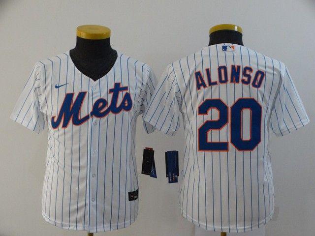 Camisa de Beisebol New York Mets White