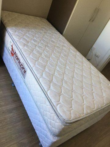Cama Box Solteiro com Colchão Pillow - Foto 2