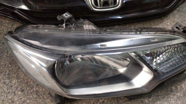 Farol Honda fit original lado direito  - Foto 4