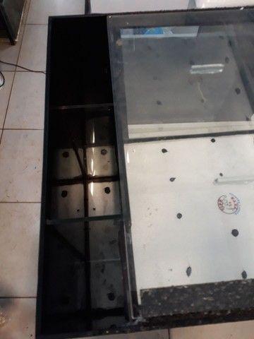 Aquário com móvel 135 litros sump lateral - Foto 3
