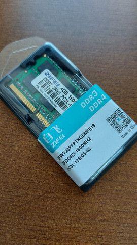 7 x Memória Notebook 4GB DD3L
