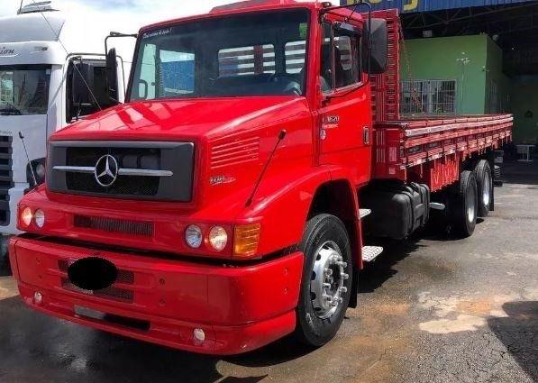 caminhão mb 1620 carroceria