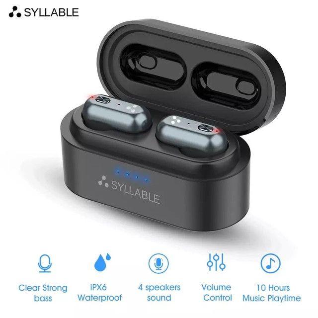 Fone bluetooth syllable s101 10 horas de bateria