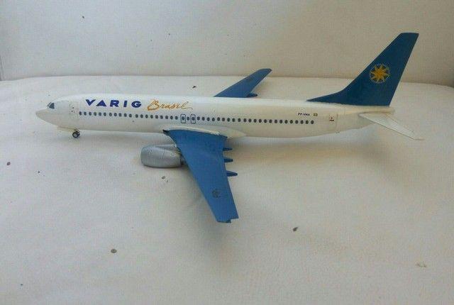 Boeing 737-800 Varig raridade - Foto 4
