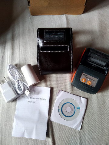 Impressora Térmica Bluetooth + Case de brinde - Foto 4