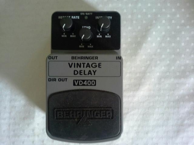 Behringer vd400 novo