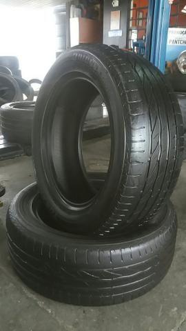 02 pneus bridgestone 215/55/16