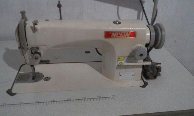 Máquina de costura reta industrial (, Nissin)
