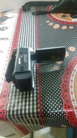 Máquina fotográfica e filmadora Sony