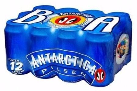 Cerveja Antarctica lata 350 ml