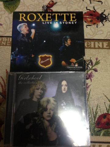 CD Girlschool, Roxette, Nouvelle Vague e Smashing Pumpkins