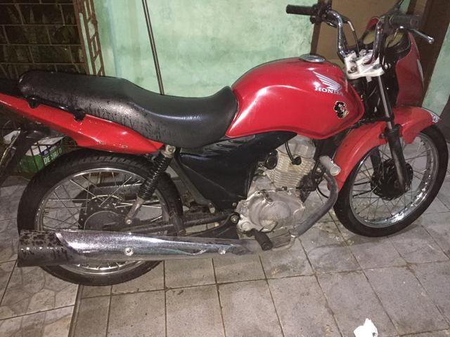 Moto titan 150 2009 partida elétrica