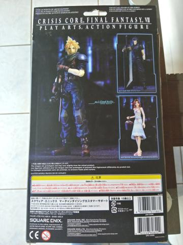 Cloud Strife [Crisis Core: Final Fantasy VII, Play Arts Action Figure] - Foto 3