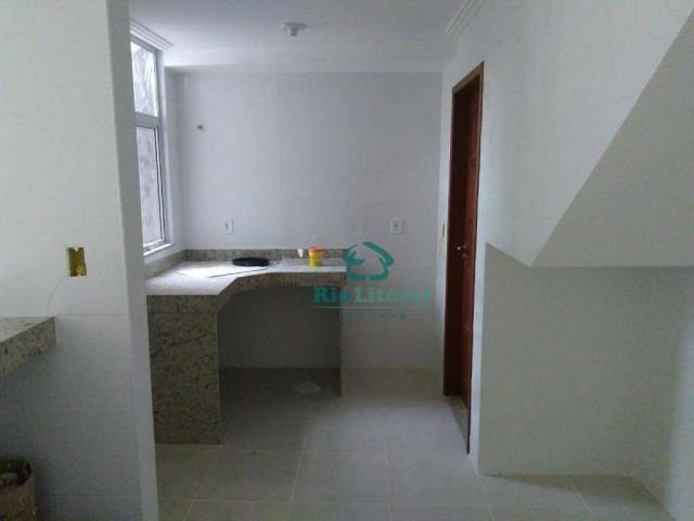 Casa com 3 dormitórios à venda, 115 m² por R$ 370.000 - Ouro Verde - Rio das Ostras/RJ - Foto 9
