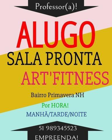 Studio para fitness, arte e ensaios p/ hora - Foto 5