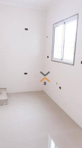 Cobertura com 2 dormitórios à venda, 46 m² por R$ 250.000,00 - Vila Humaitá - Santo André/ - Foto 3