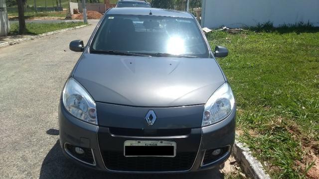 Renault Sandero Privilege automático chumbo único dono - Foto 7