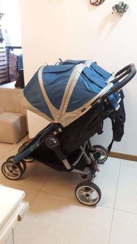 Carrinho de Bebê para Gêmeos City Mini Baby Jogger Double - Foto 5