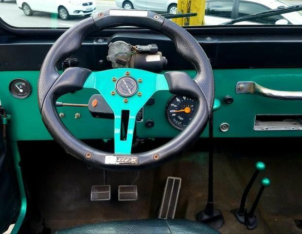 Jeep Willys 4x4 gasolina 1966/66. Muito novo. Raridade! Confira! - Foto 13