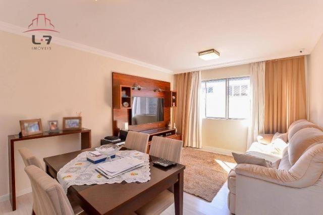 Apartamento com 3 dormitórios à venda, 79 m² por R$ 310.000,00 - Bacacheri - Curitiba/PR - Foto 5