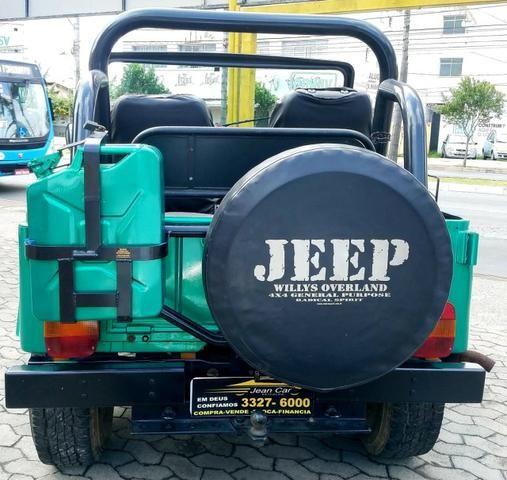 Jeep Willys 4x4 gasolina 1966/66. Muito novo. Raridade! Confira! - Foto 5