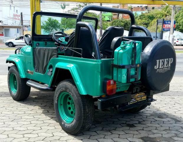 Jeep Willys 4x4 gasolina 1966/66. Muito novo. Raridade! Confira! - Foto 6