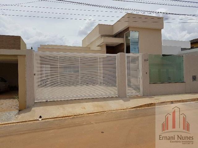 Linda Casa Moderna no Vicente Pires Ernani Nunes - Foto 17