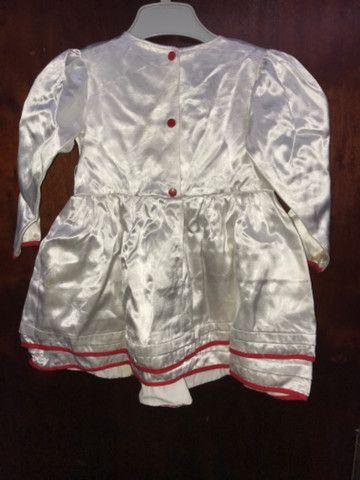 Vestido Infantil Cetim - TAM 2 anos - Foto 2