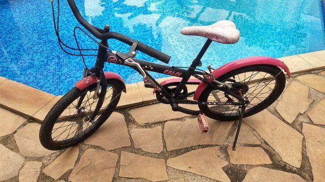 Bicicleta Caloi Aro 20 Barbie 7 marchas
