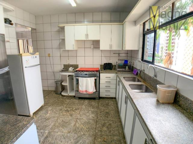 Apartamento com 4 dormitórios para alugar, 303 m² por R$ 4.200,00/mês - Aldeota - Fortalez - Foto 9