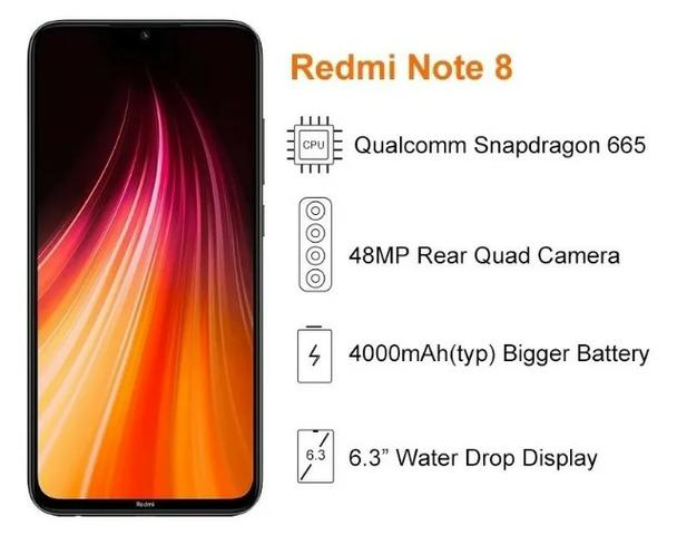 Celular Xiaomi Redmi Note 8 64GB Versão Global - Foto 4