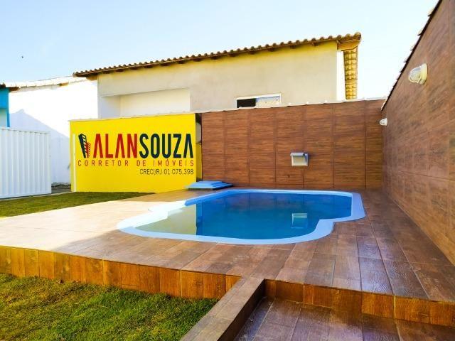 Casa de 2 quartos e piscina + área gourmet em Unamar Cabo frio - Foto 2