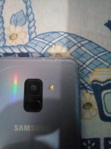 Samsung A8 64 gb vendo ou troco - Foto 6