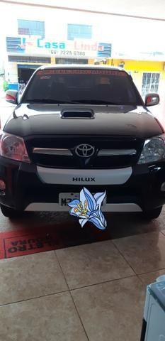 Toyota hilux 2007/2007 srv 4x4 3.0 automatica - Foto 10