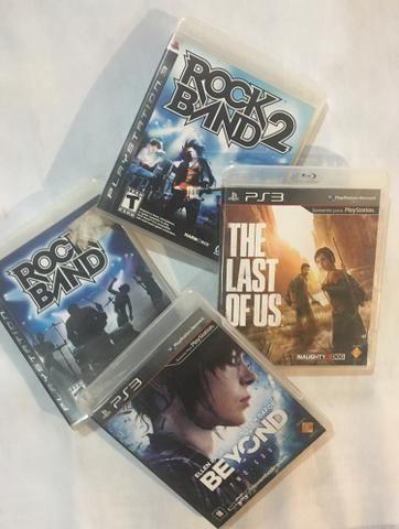 Jogos de PS3 usados (R$25 cada jogo)