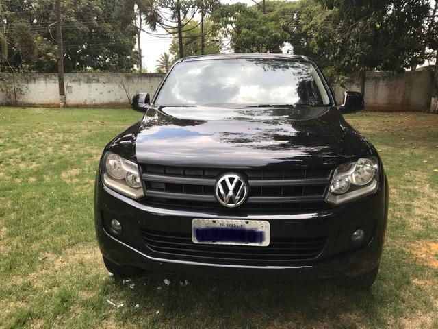 AMAROK 2011 SE CD TDI 4x4 com Multimídia! Impecavel!! - Foto 2