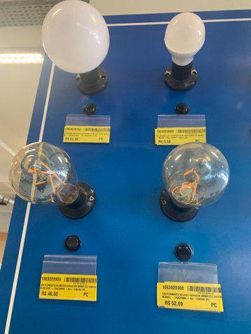 Lustre com 12 braços e 12 lâmpadas filamento - Foto 5