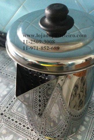 Jarra / Bule e Aparador Para caldo de Cana Profissional Inox - Foto 6