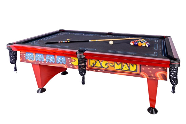 Mesa de Sinuca Pac Man (Pool Table) - mesa de bilhar mais famosa dos Estados Unidos - Foto 4