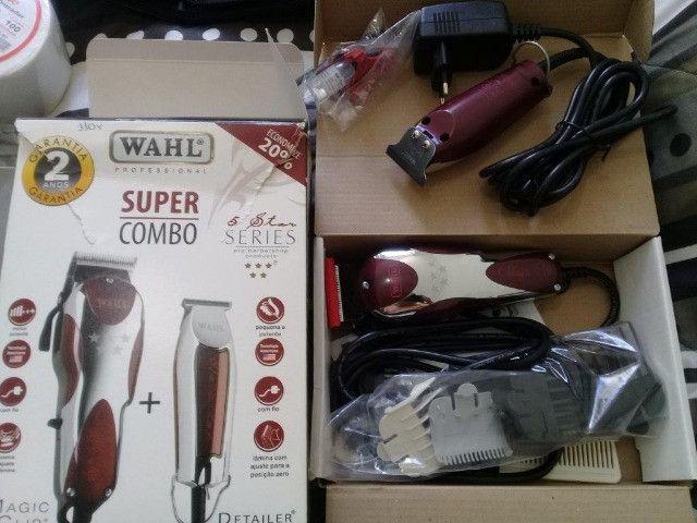 Maquinas de cabelo Wahl Novas - Venda ou Troca - Foto 2