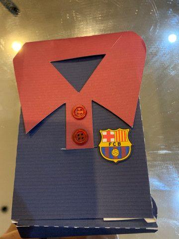 Lembrança infantil tema Barcelona