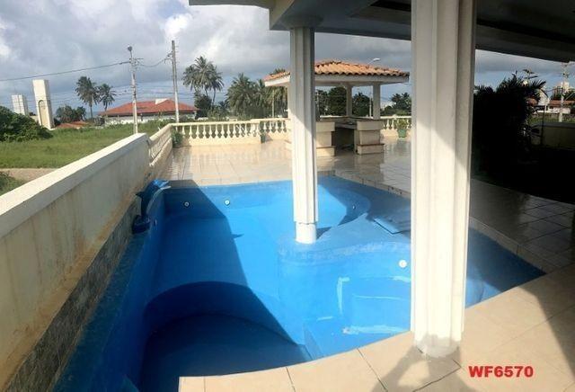 Casa duplex com 3 quartos, vista mar, 6 vagas, nascente, piscina, Bairro de Lourdes, Dunas - Foto 19