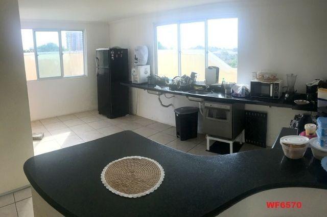 Casa duplex com 3 quartos, vista mar, 6 vagas, nascente, piscina, Bairro de Lourdes, Dunas - Foto 5