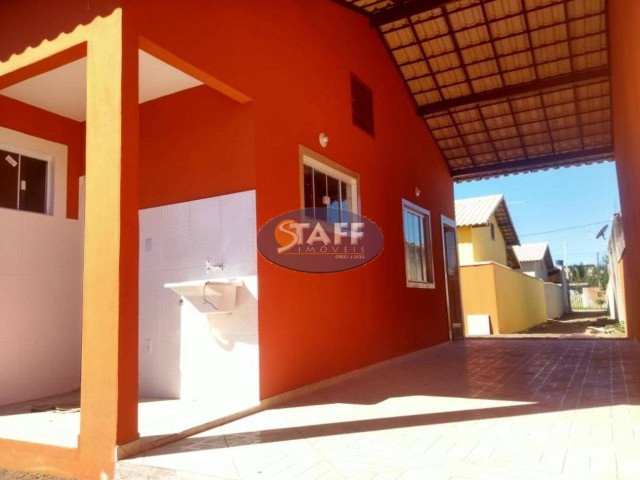 KA- Casa na Planta e com 2 quartos e suíte, em Condomínio, por R$ 100.000 - Unamar - Foto 4