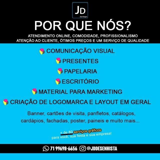 Gráfica Virtual! A melhor - JD Gráfica - Foto 2