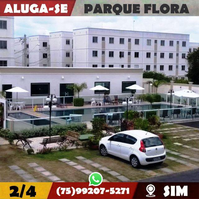 Parque Flora 2/4-Com Armários Na-Cozinha e Banheiro-Bairro-Sim-Feira de Santana-BA - Foto 17