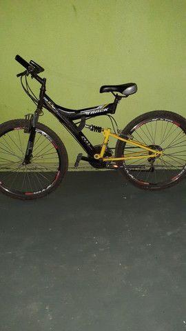 Vendo uma bicicleta aro 26 por motivo de mudança - Foto 4