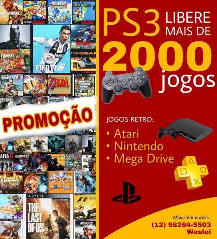 PS3 mais de 2000 jogos