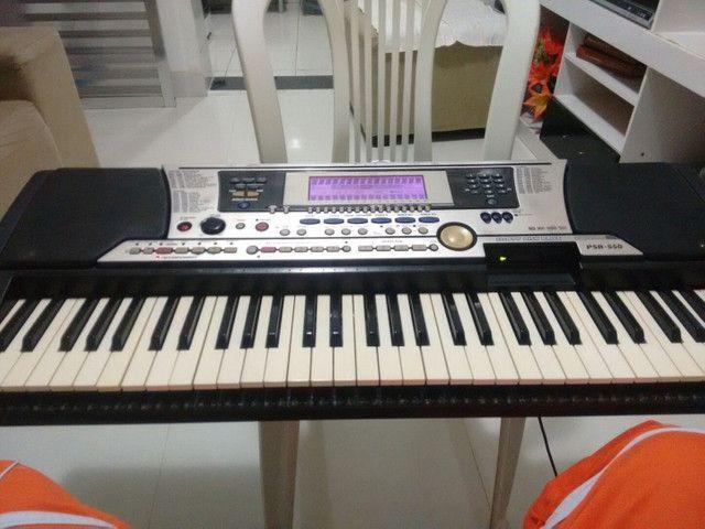 Vendo ou troco meu teclado PSR 550
